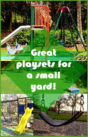 playsets for small yards five top list
