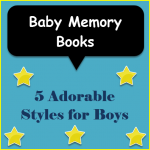 Baby Memory Books for Boys