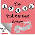Pink Car Seat Covers